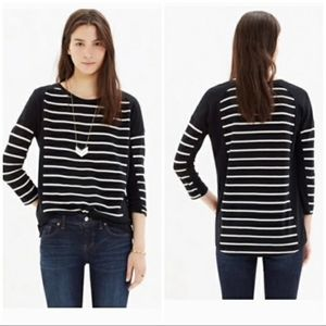 Madewell Stripeset Top Size M